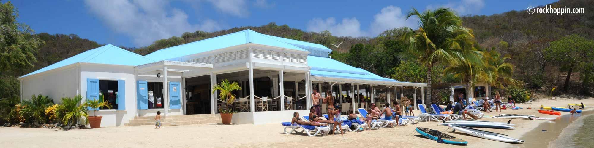 Pirates Bight Bar on Norman Island, BVI