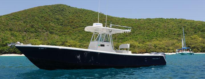 Powerboat Charter St. John, USVI