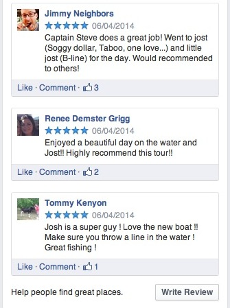 Rockhoppin' Reviews on Facebook